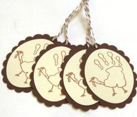 Turkey Tags - Set of 4