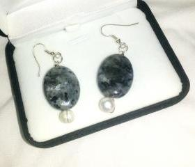 Labradorite Earring