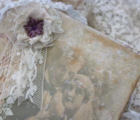 Wedding Guest book -style 'Vintage Twenties' - custom - 48 pages