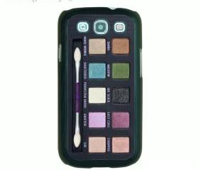 Eyeshadow set --Samsung Galaxy S3 case in plastic case