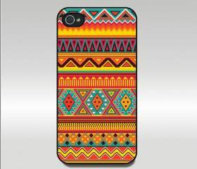Aztec-Iphone 4 case,iphone 4S case,in plastic or silicone case