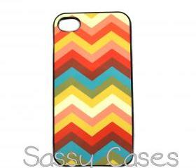 Chevron iPhone 4 iPhone 4S Case Trendy and Unique Cell Phone Case