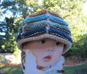 Knit Sausage Hats for Babies/Kids - H15-1, H15-3