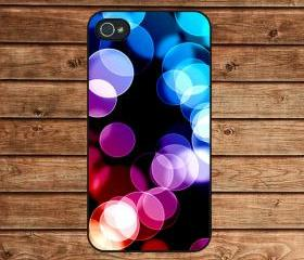 iphone 4 case,iphone 4s case--Neon light ,in plastic or silicone case