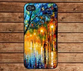 Rambling Lover Oil Painting Style Design---iphone 4 case,iphone 4s case,in plastic or silicone case