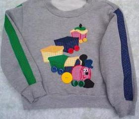 Boys appliqued sweatsuit Size 4 to 5