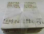 Sheet Music Print Coasters