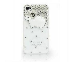Cute Little Sheep Protective iPhone4/4s Case