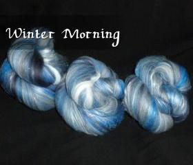 Spinning Batt - Winter Morning - 1.15 oz
