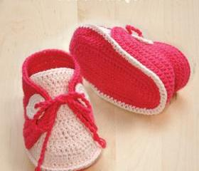 Baby Sneakers Crochet PATTERN, SYMBOL DIAGRAM (pdf)