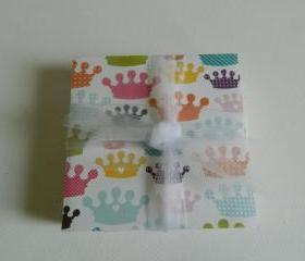 Princess Crown Print Tile Coasters