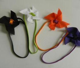 Halloween Felt Spider Headband - Choose 1