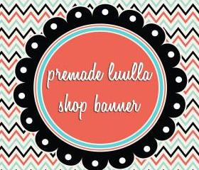 Premade Luulla Shop Banner Set