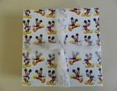 Mickey Mouse Print Tile Coasters
