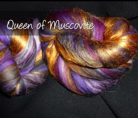 Spinning Batt – The Queen of Muscovite – 1.58 oz