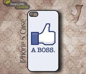 iPhone 5 Case, Like A Boss iPhone Case Hard Fitted iPhone 5 Case, iPhone 5 Hard Case