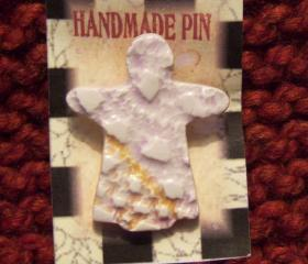 Butter Cream Angel Pin #7