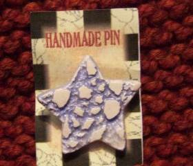 Blue Star Pin