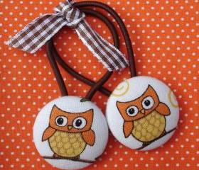 Owl Ponytail Holders