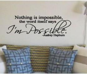 I'm Possible Vinyl Decal