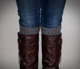 Handmade Crochet Boot Cuffs
