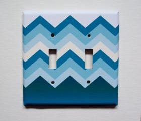 Modern Chevron Switchplate Cover Case 
