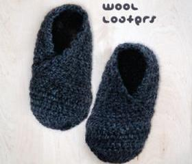 Wool Baby Loafers Crochet PATTERN, SYMBOL DIAGRAM (pdf)