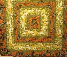 Blended Nature Wall Quilt or Table Topper