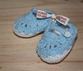 Baby boy booties