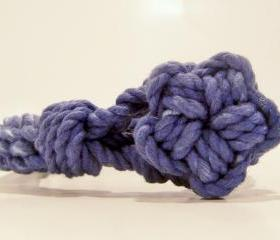 Blue Knot Bracelet