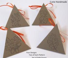 8 handmade Favor Gift Box
