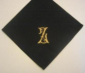 Personalized Napkins - Set of 6 Monogrammed dinner napkins