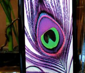 Samsung Galaxy S3 SIII Purple Peacock Feather Case Samsung Galaxy S3