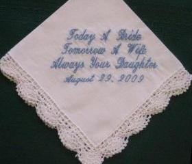 Mother of the Bride Style Hanky with Gift Box 6S