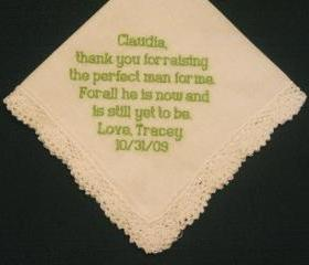 Mother of the Groom Hanky with Gift Box 93B