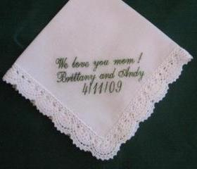 Ladies Bridal Hanky with Gift Box 89S