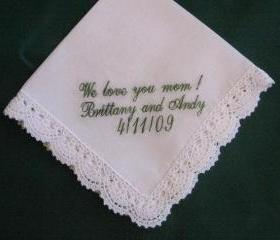 Ladies Bridal Handkerchief with Gift Box 68S