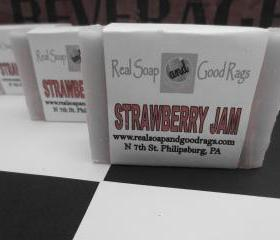 Strawberry Jam Handmade Cold Process Soap