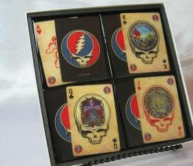 The Grateful Dead Collector Playing Card Drink Coaster Set
