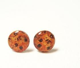 CHIPPER - Cookie Stud Earrings - 10mm
