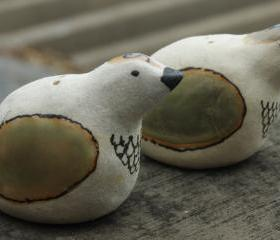 Ceramic Bird Salt & Pepper Shakers