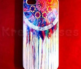 Iphone 5 Case, New iPhone 5 case Colorful Dream catcher iphone 5 Cover, iPhone 5 Cases, Case for iPhone 5