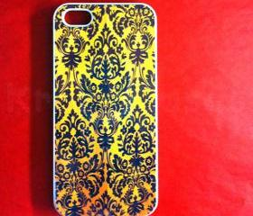 Iphone 5 Case, New iPhone 5 case Floral Damask design iphone 5 Cover, iPhone 5 Cases, Case for iPhone 5