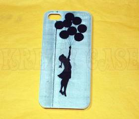 Iphone 5 Case, New iPhone 5 case - Banksy balloon girl Iphone 5 Cover, iPhone 5 Cases