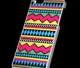 iPhone 5 Pastel colors Tribal print Pattern Aztec Hard Case