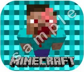 Minecraft Mouse Pad - Personalized