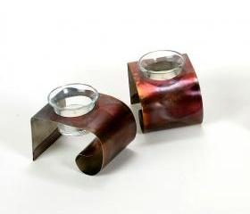 Stainless Steel Candle Holders Discount When You Buy Two