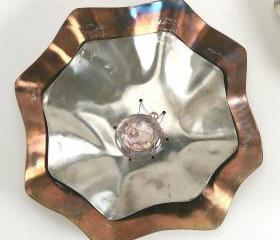  Stainless Steel Wall Flower Small
