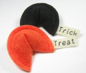 Trick or Treat Fortune Cookies Catnip Cat Toy