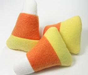 Candy Corn Catnip Cat Toy